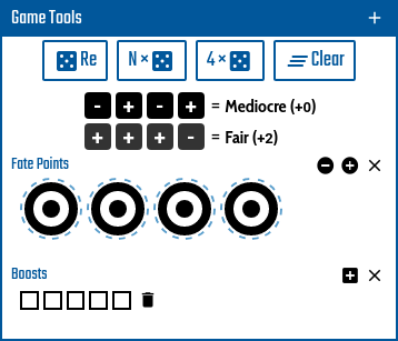 Dice tool example